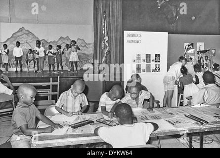Children at Anacostia Neighborhood Museum - Stock Photo