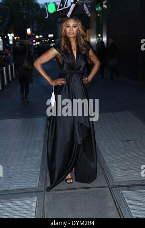 New York, NY, USA. 21st Apr, 2014. Cynthia Bailey at arrivals for New Yorkers For Children New Year's in April: - Stock Photo