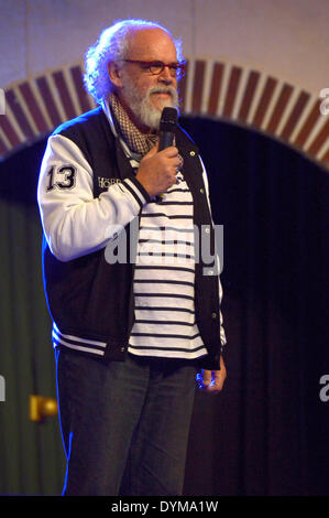 New Zealand actor John Callen at the HobbitCon 2 convention at the Maritim Hotel in Bonn, Germany. On April 19, - Stock Photo