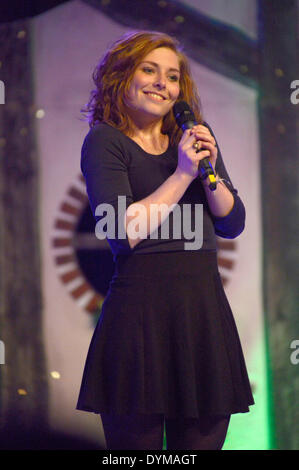 German actress Lilian Prent at the HobbitCon 2 convention at the Maritim Hotel in Bonn, Germany. On April 19, 2014/picture - Stock Photo