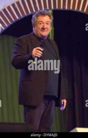 Scottish actor ken Stott at the HobbitCon 2 convention at the Maritim Hotel in Bonn, Germany. On April 19, 2014/picture - Stock Photo
