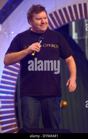 New Zealand actor Stephen Hunter at the HobbitCon 2 convention at the Maritim Hotel in Bonn, Germany. On April 19, - Stock Photo