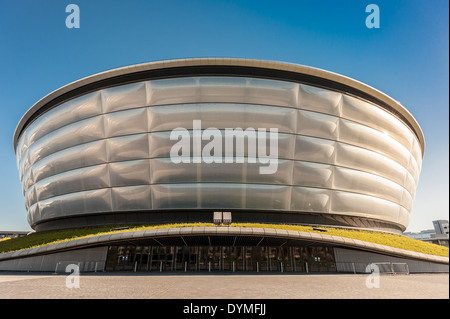 Glasgow Hydro on the banks of the River Clyde, Glasgow - Stock Photo