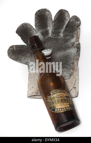 GER, 20140418, Arbeitshandschuh - Stock Photo