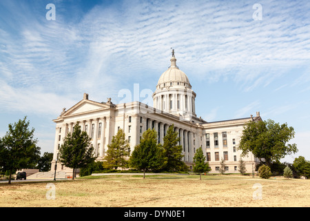 Oklahoma State Capitol Building, Oklahoma City - Stock Photo