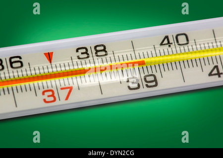 High body temperature - Stock Photo