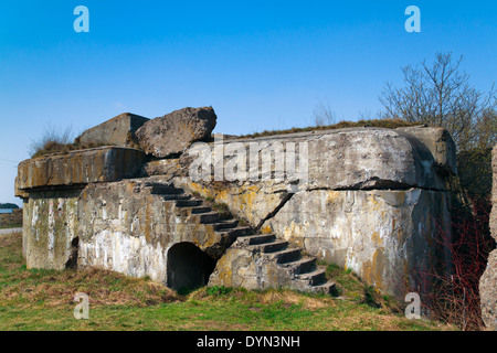 Bunker from the First World War, Osowiec - Stock Photo