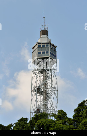 Branca Tower,  Sempione Park Milan (detail) - Stock Photo