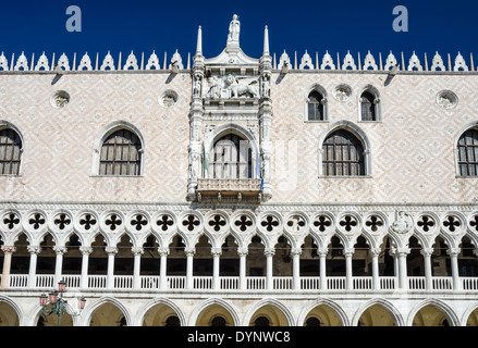Venetian Gothic venetian gothic architecture of he doge's palace in venice, italy