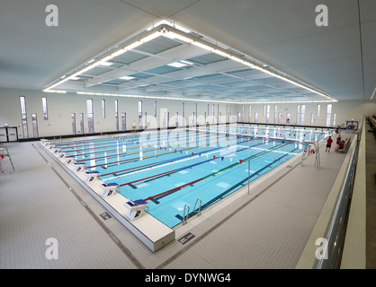 The 50 Metre Swimming Pool At Aberdeen Aquatic Centre At Aberdeen Stock Photo 68708048 Alamy