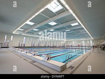 The 50 Metre Swimming Pool At Aberdeen Aquatic Centre At Aberdeen Stock Photo 68708192 Alamy