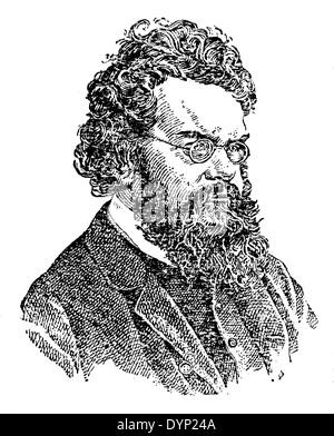 Ludwig Eduard Boltzmann (1844-1906), Austrian physicist, illustration from Soviet encyclopedia, 1927 - Stock Photo