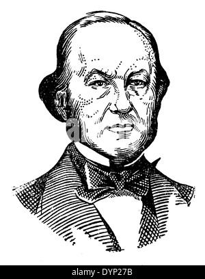 Claude Bernard (1813-1878), French physiologist, illustration from Soviet encyclopedia, 1927 - Stock Photo