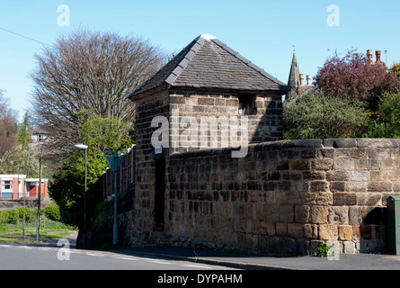The old lock-up and pinfold, Sandiacre, Derbyshire, England, UK - Stock Photo