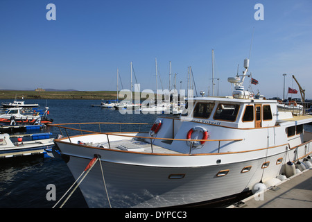 Marina in Stromness, mainland Orkney - Stock Photo