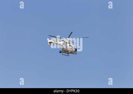MD 900 Explorer belgian police helicopter - Stock Photo