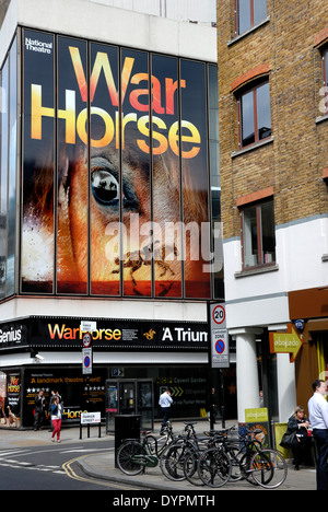 London, England, UK. War Horse at New London Theatre, Drury Lane - Stock Photo