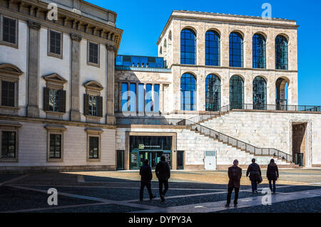Milan, Italy. 23rd Apr, 2014. the Museum of the twentieth century Credit:  Realy Easy Star/Alamy Live News - Stock Photo