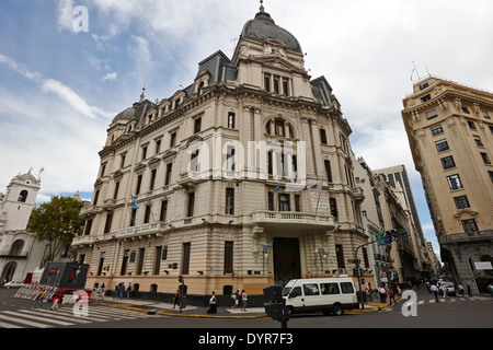 Buenos Aires city hall on plaza de mayo Argentina - Stock Photo