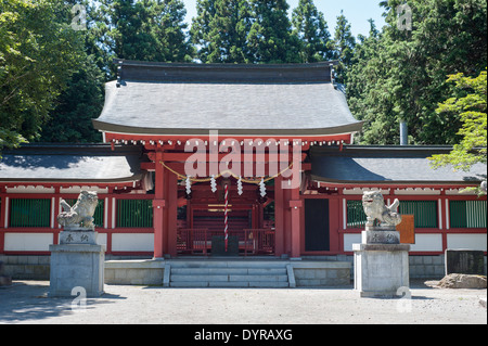 Temple in Odawara, Kanagawa Prefecture, Japan - Stock Photo