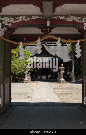 Temple in Odawara, Kanagawa Prefecture, Japan - Stock Photo