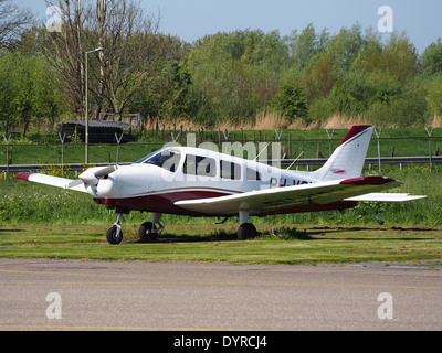 PH-VSY Private Piper PA-28-161 Warrior II at Rotterdam The Hague Airport (RTM - EHRD) - Stock Photo