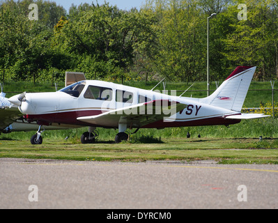 PH-VSY Private Piper PA-28-161 Warrior II at Rotterdam The Hague Airport (RTM - EHRD), - Stock Photo