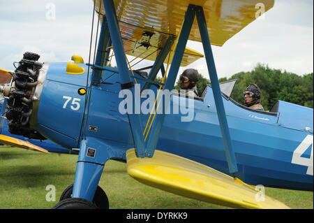 Fly-in on the 100th anniversary of the Schleissheim Airport, 2012 - Stock Photo