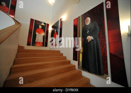 Palais Holnstein in the Kardinal-Faulhaber-Strasse in Munich, 2012 - Stock Photo