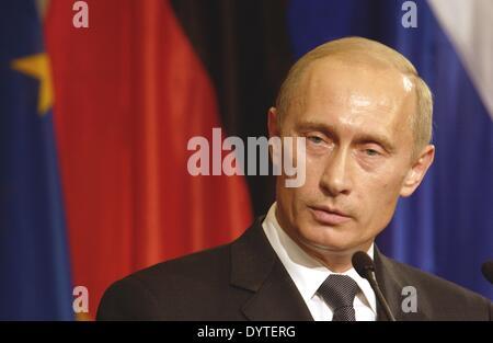 Vladimir Putin, 2005 - Stock Photo