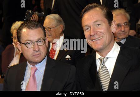 Diekmann and Doepfner - Stock Photo