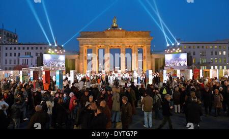 The Brandenburg Gate - Stock Photo