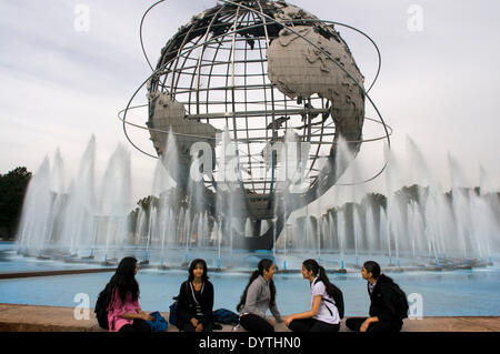 Flushing Meadow - Corona Park. This park of 5 square kilometers, was built on a former garbage dump. The Flushing - Stock Photo