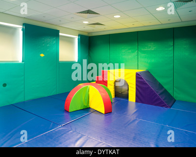 Play area, Beverley and Tollesby School, Middlesbrough - Stock Photo