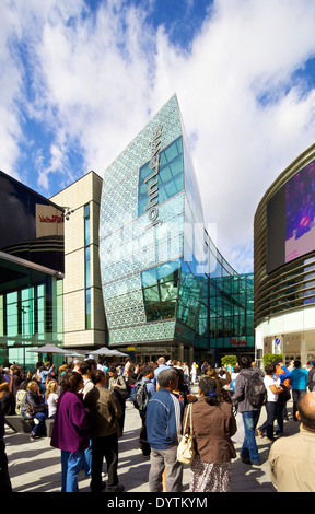 John Lewis store in the Westfield Shopping Centre in Stratford, London - Stock Photo