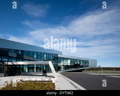 Exterior of Inspiria, Science Centre, Norway - Stock Photo