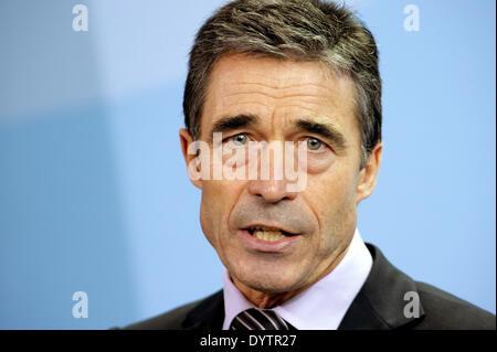 Anders Fogh Rasmussen - Stock Photo