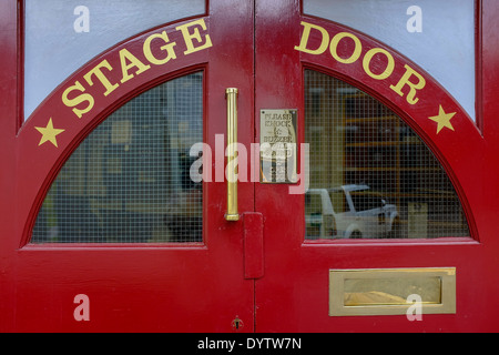 Black Doors · The red painted Stage Doors at the Alhambra Theatre Bradford West Yorkshire UK & Theatre doors Stock Photo: 29497410 - Alamy