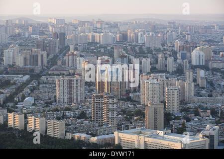 Panoramic view of Baku - Stock Photo