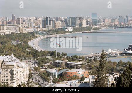 Baku Boulevard, 2011 - Stock Photo