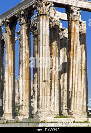 The Temple of Olympian Zeus, also known as the Olympieion ...