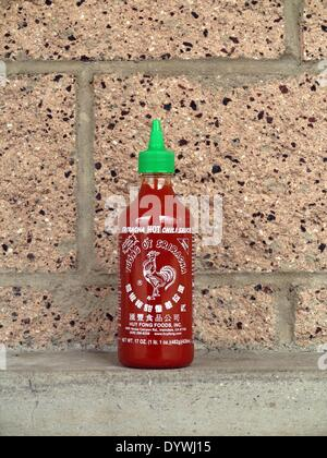 Aliso Viejo, California, USA. 25th Apr, 2014. Huy Fong Foods Sriracha plant in Irwindale that produces the popular - Stock Photo