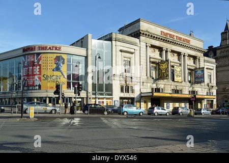 Empire Theatre, Liverpool. - Stock Photo