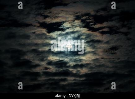 dark sky - Stock Photo