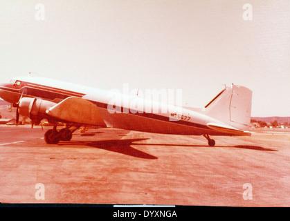 Douglas, DC-3A - Stock Photo