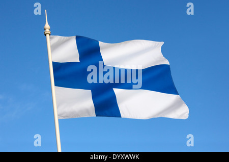 The flag of Finland - Stock Photo