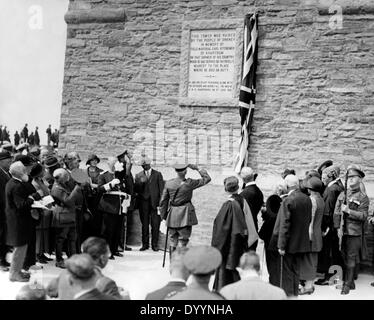 Unveiling of the Kitchener Memorial, 1926 - Stock Photo