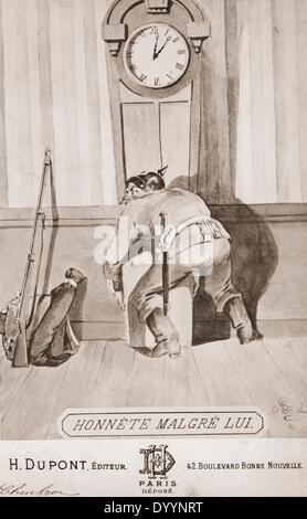 French war propaganda to the Franco-Prussian War, 1870/1871