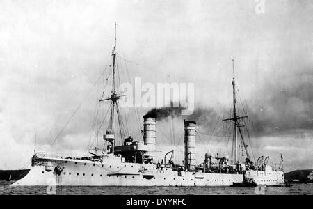 SMS Ariadne, 1914 - Stock Photo