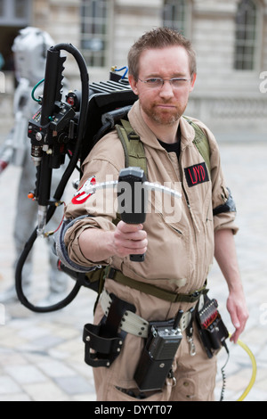 Sci-Fi London Annual Costume Parade at Somerset House, London - Stock Photo